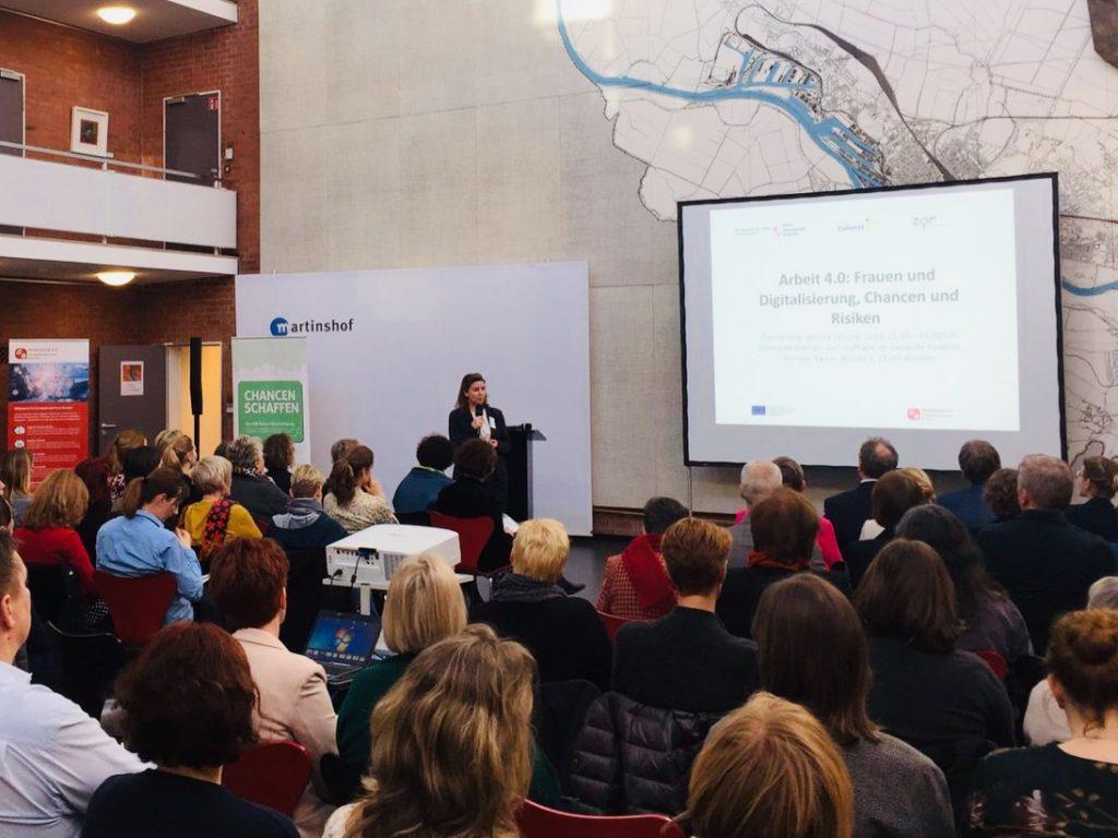 Frauen und Digitalisierung Vortrag