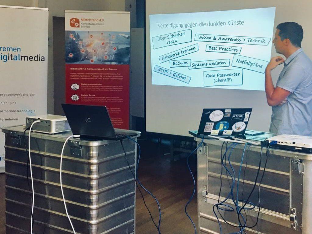 Vortrag über Cyberkriminalitaet
