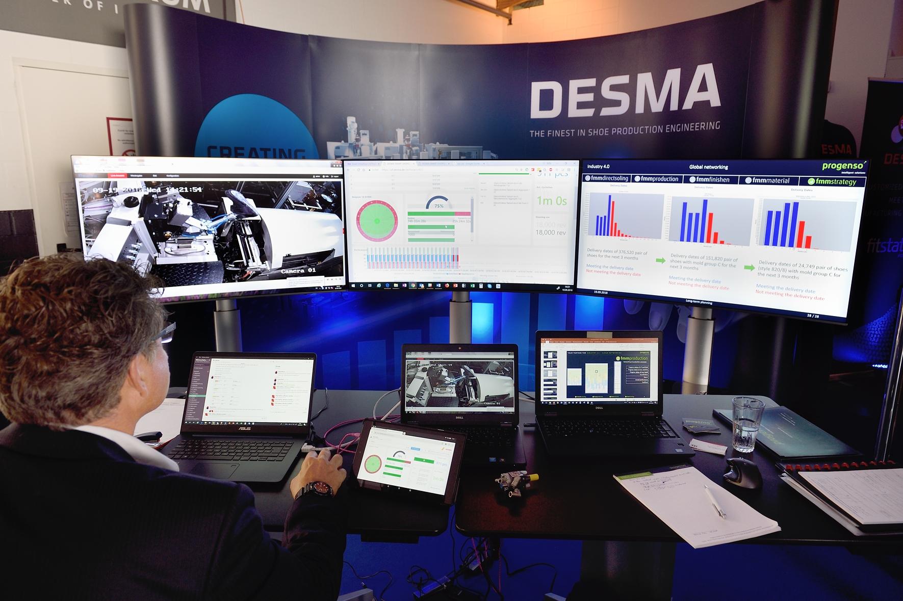Desma ist ein Maschinenbauer auf der Suche nach neuen, digitalen Geschäftsmodellen, Bild: Desma