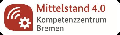 Logo des Mittelstand 4.0-Kompetenzzentrum Bremen