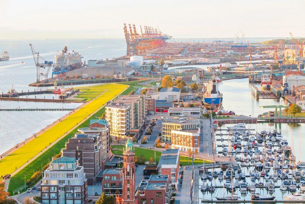 Bremerhaven von Oben
