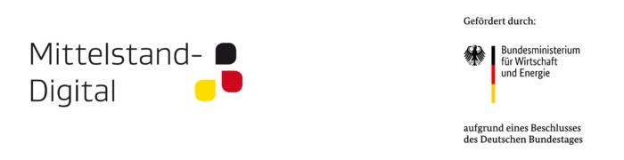 Logo Mittelstand Digital und BMWi