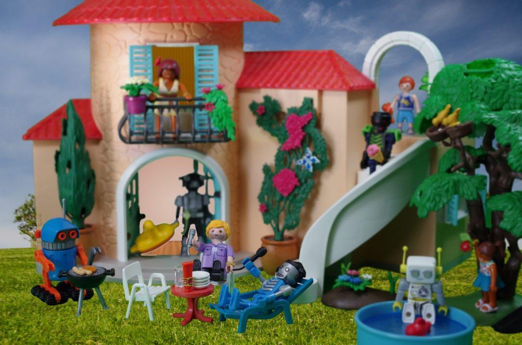 Playmobil Szene Ferienwohnung