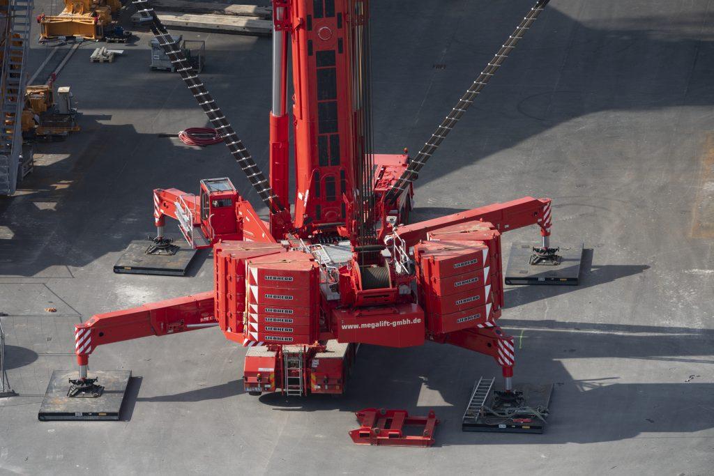 Megalift Kran